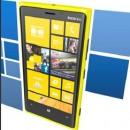 Abbild eines Nokia Lumia WindowsPhone mit Kacheln.