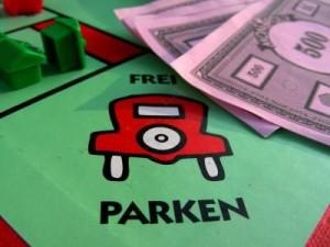 Monopoly Spiel Frei Parken Feld
