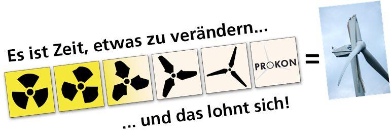 Prokon Motto und Bild von Thorben Wegert