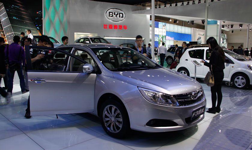 Autokonzern BYD  aus China