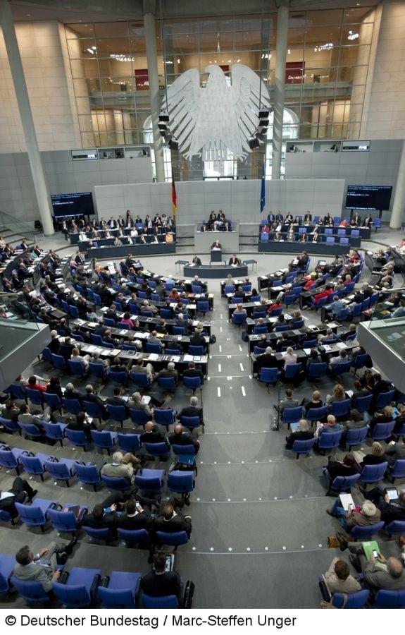 Deutscher Bundestag Sondersitzung Bundestag