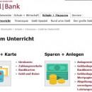Screenshot Schulbank Webseite Homepage
