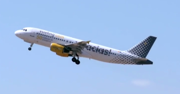 vueling airline screen youtube