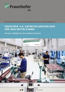 fraunhofer studiecover industrie40 mittelstand