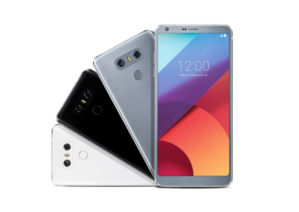 Bild LG G6 body