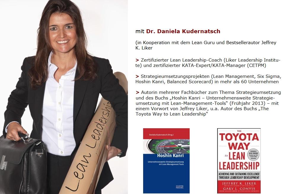 berater mittelstand Dr. Daniela Kudernatsch lean management seminare