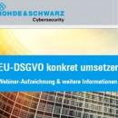 rohde schwarz EU DSGVO leitfaden screen