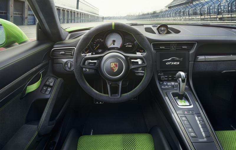 Neuer Porsche 911 GT3 RS von Weissach zum Genfer Automobil Salon ...