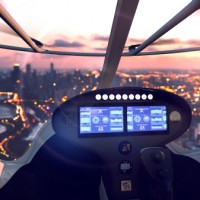 Volocopter Cockpit Passagierdrohne Artikelfoto