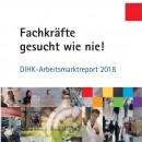dihk arbeitsmarktreport 2018 cover
