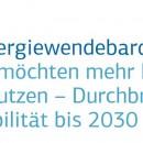 kfw energiewendebarometer 2019 Cover